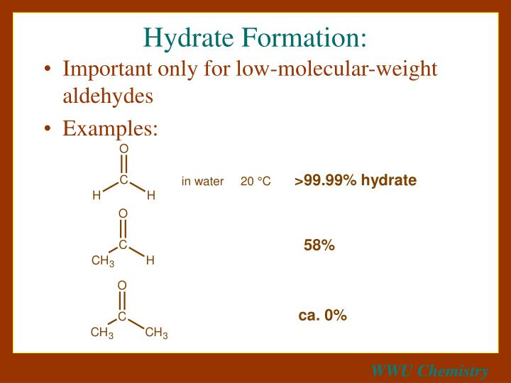 Hydrate formation