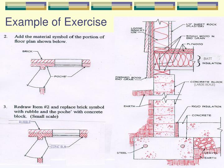Example of Exercise