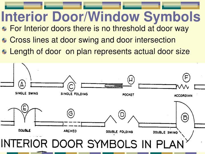 Interior Door/Window Symbols
