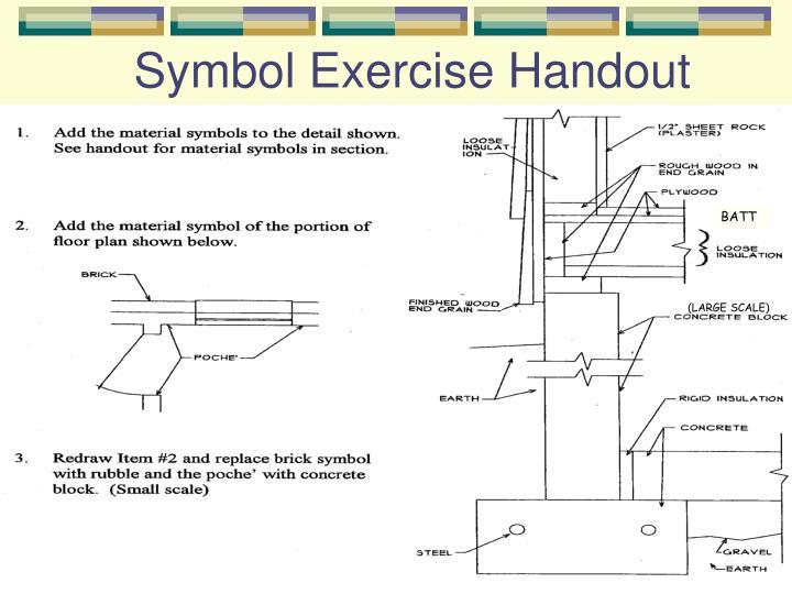 Symbol Exercise Handout