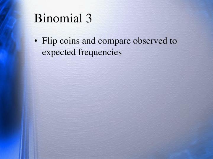 Binomial 3