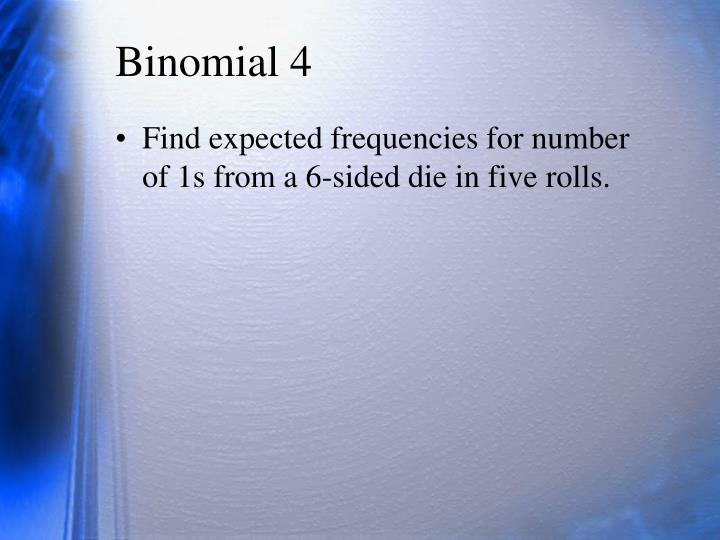Binomial 4