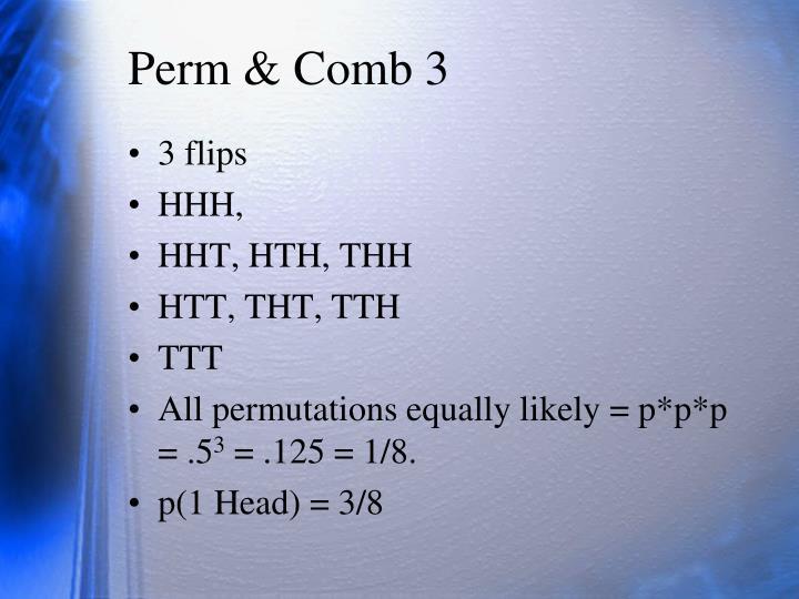 Perm & Comb 3