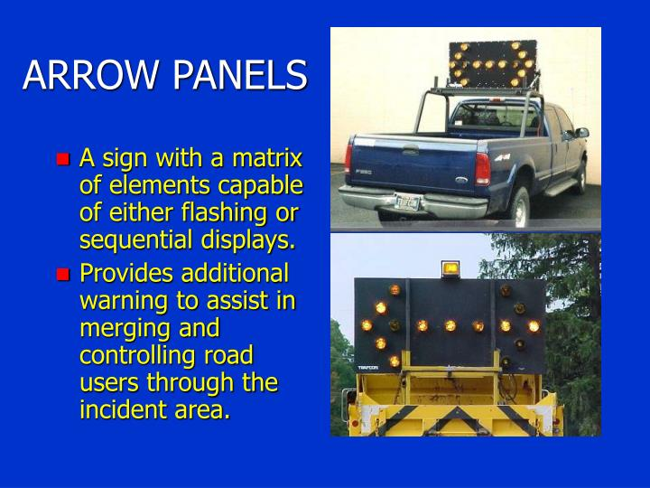 ARROW PANELS