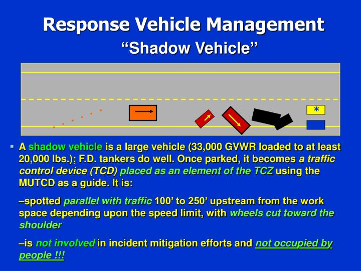 Response Vehicle Management