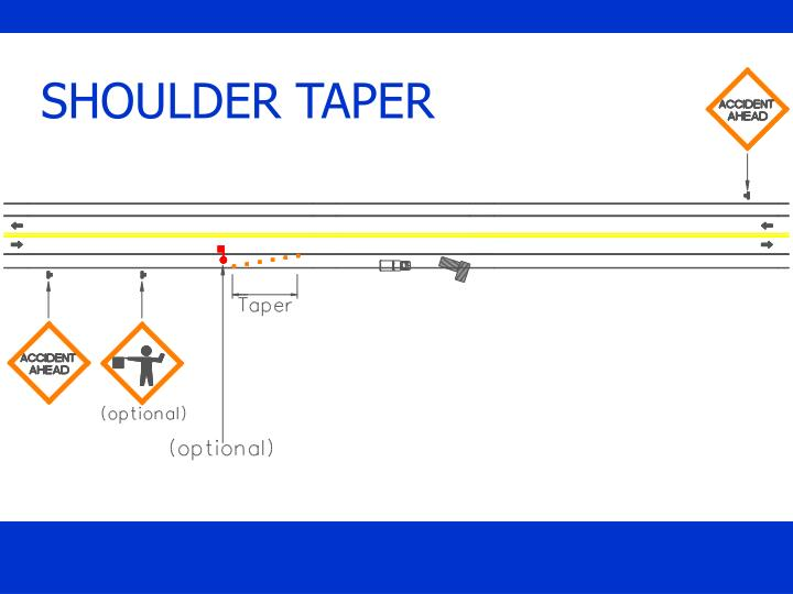 SHOULDER TAPER