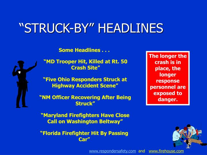 """STRUCK-BY"" HEADLINES"