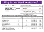 why do we need to measure
