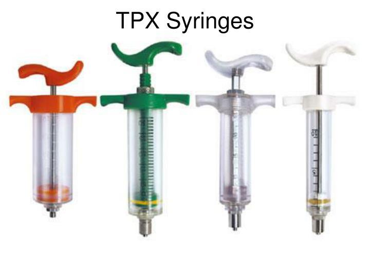TPX Syringes