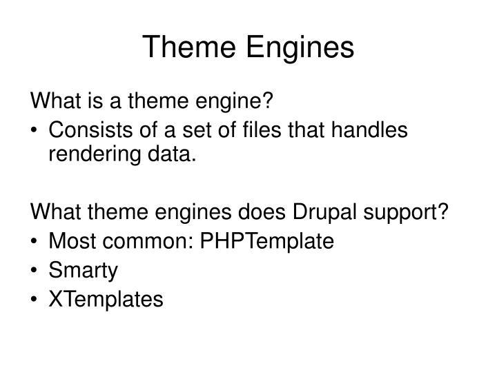 Theme Engines