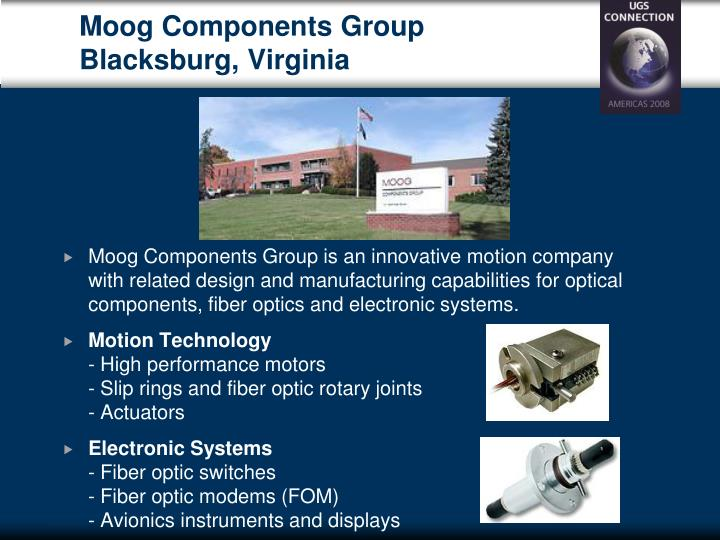 Moog Components Group