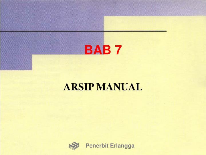 BAB 7