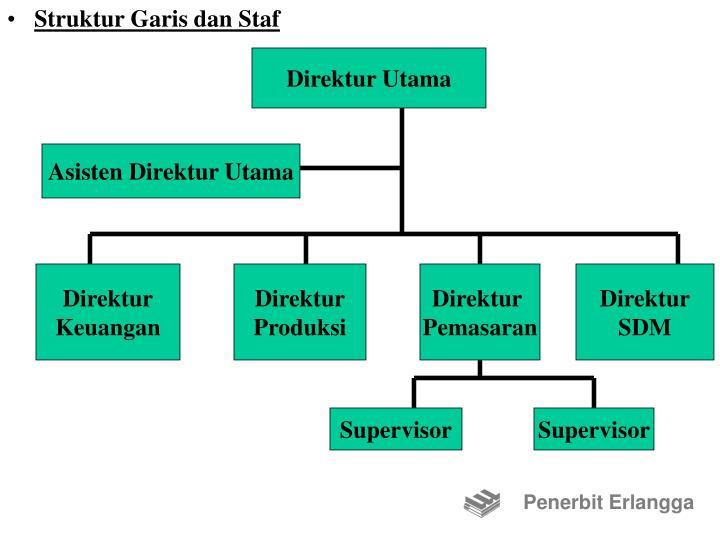 Struktur Garis dan Staf