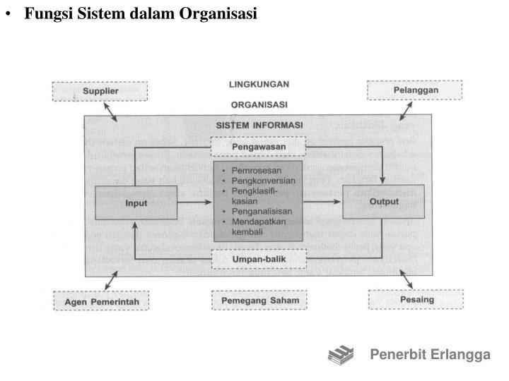 Fungsi Sistem dalam Organisasi