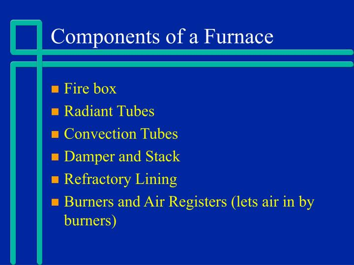 Components of a Furnace