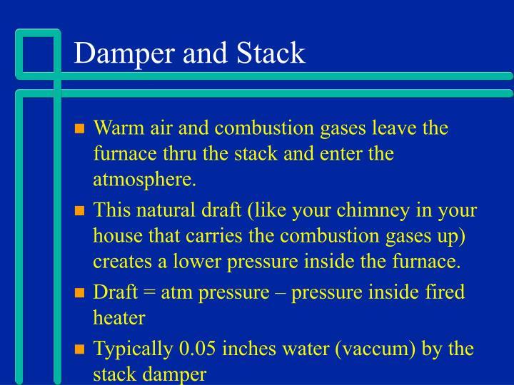 Damper and Stack
