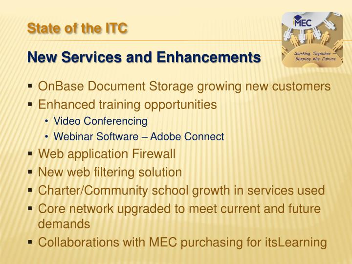 OnBase Document Storage growing new customers