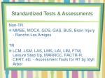 standardized tests assessments
