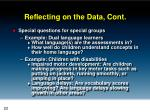 reflecting on the data cont4
