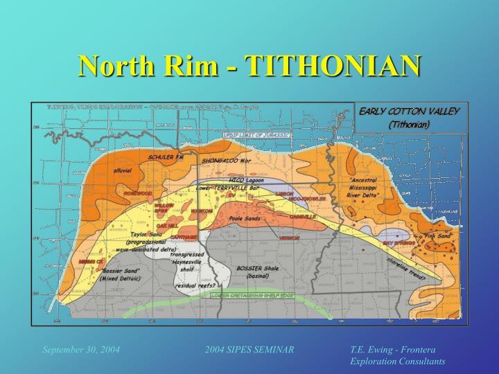North Rim - TITHONIAN
