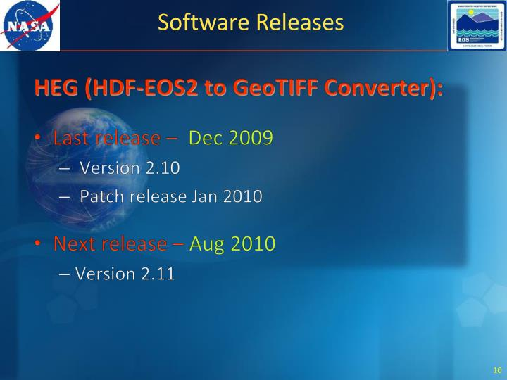 HEG (HDF-EOS2 to