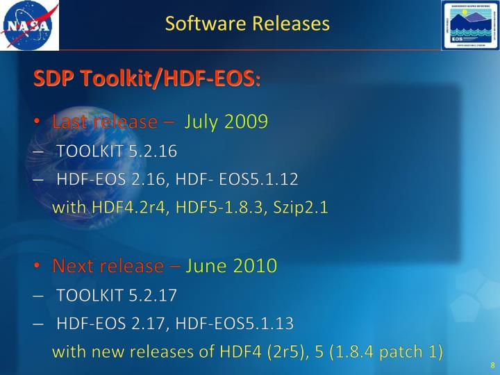 Software Releases