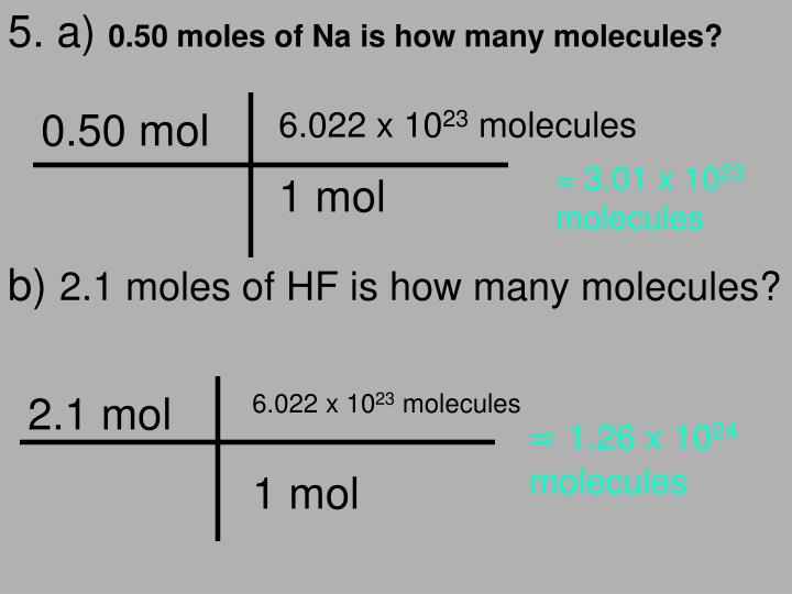 0.50 mol