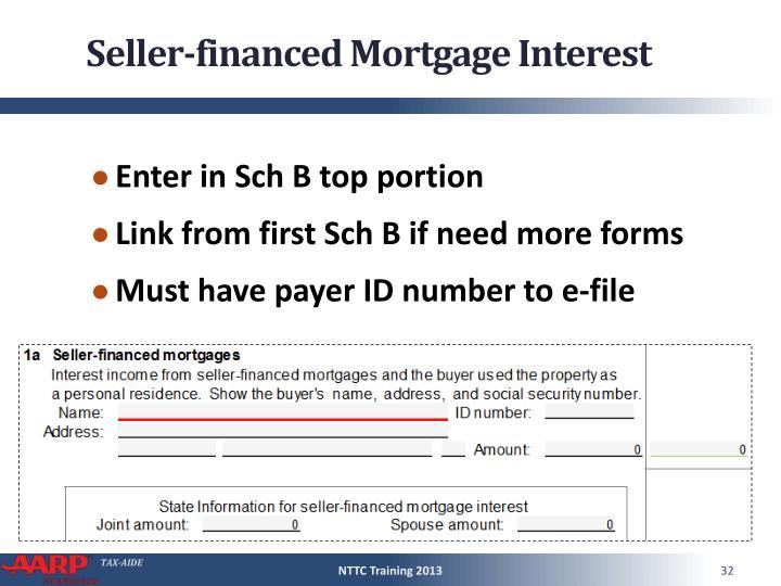 Seller-financed