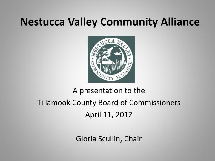 Nestucca valley community alliance