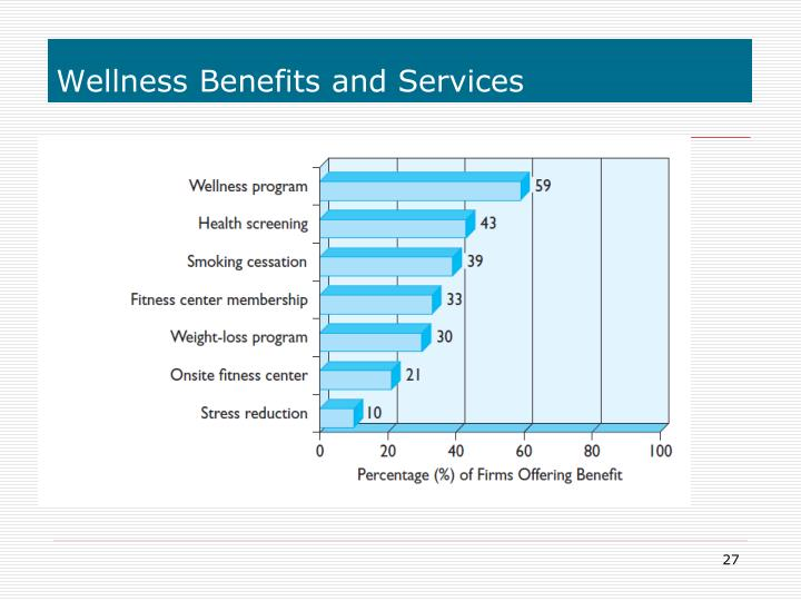 Wellness Benefits and Services