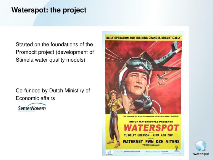 Waterspot: the project