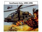 southwest asia 1990 19951
