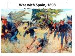 war with spain 1898 gatlings to the assault