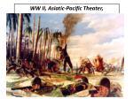 ww ii asiatic pacific theater dec 1941 sep 1945