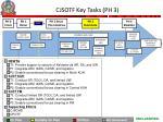 cjsotf key tasks ph 3