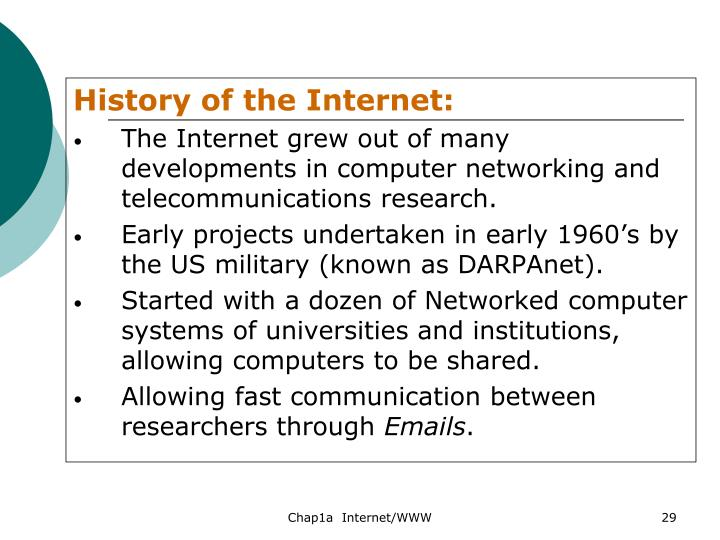 History of the Internet: