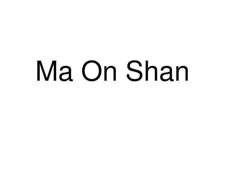 Ma On Shan