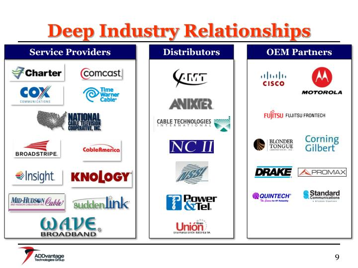 Deep Industry Relationships