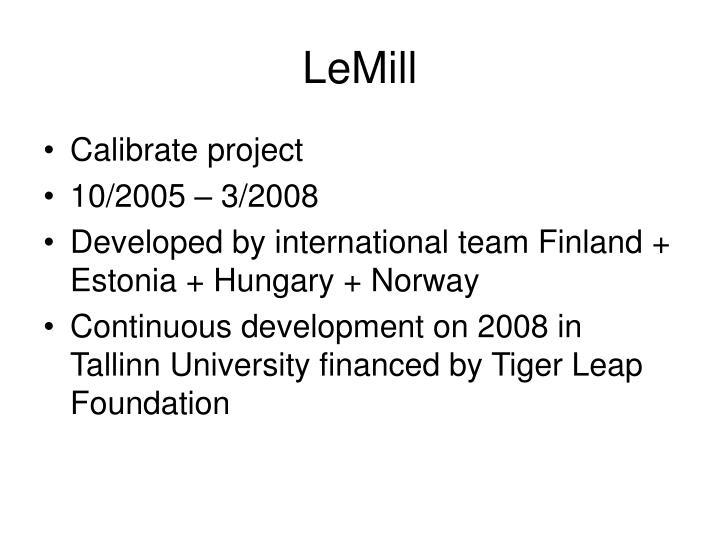 Lemill
