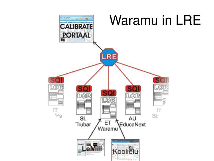 Waramu in LRE