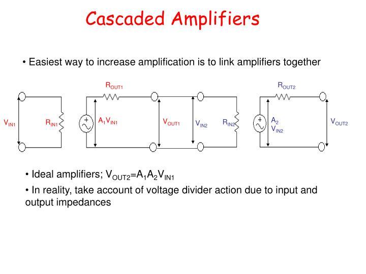Cascaded Amplifiers
