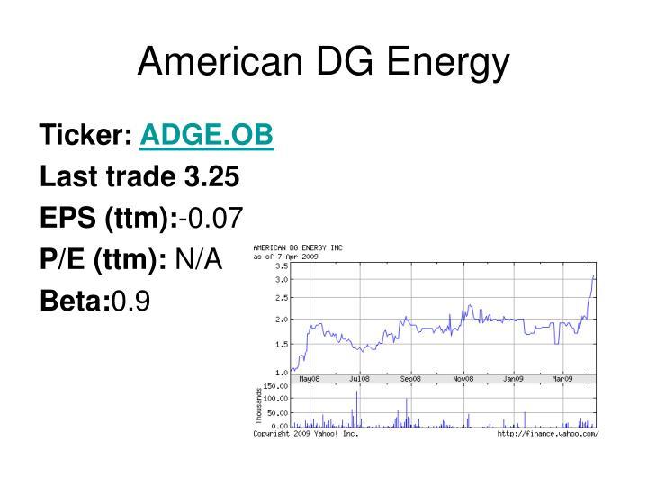 American dg energy1