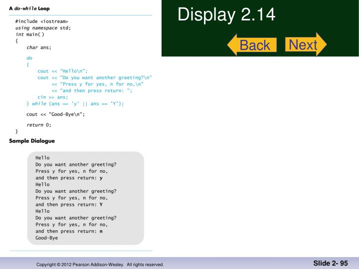 Display 2.14