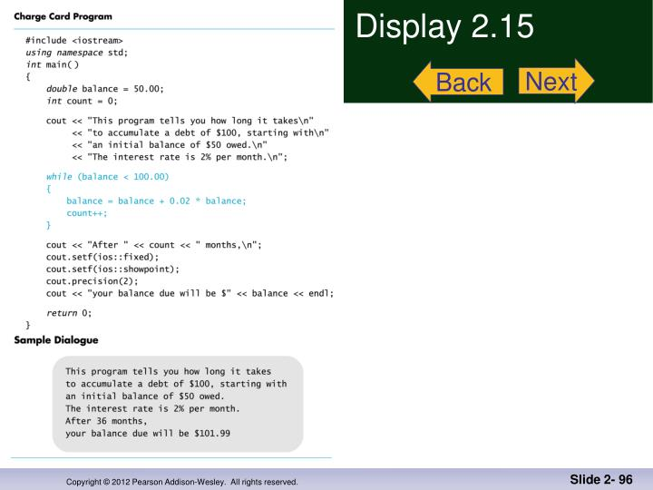 Display 2.15