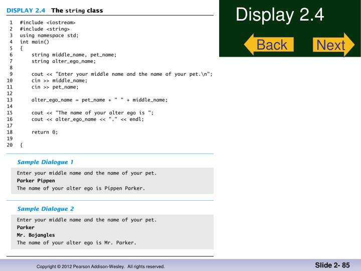 Display 2.4