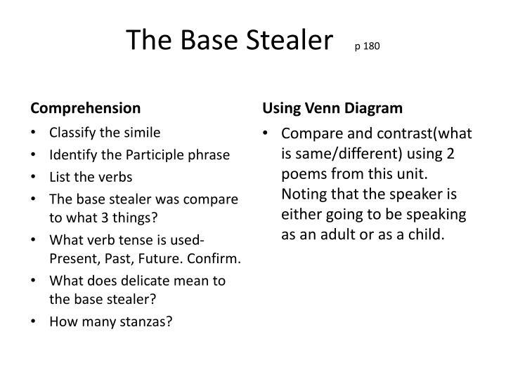 The Base Stealer