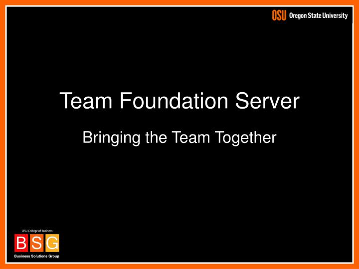 Team Foundation Server