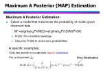 maximum a posterior map estimation