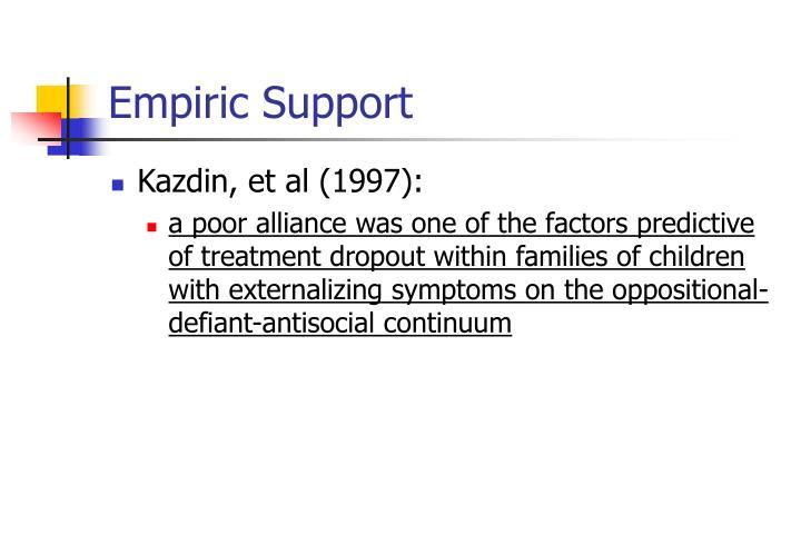 Empiric Support