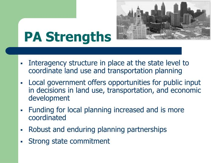 PA Strengths